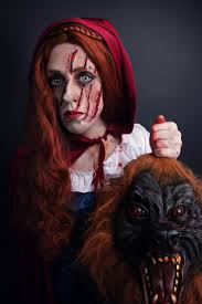 Little Red Riding Hood Makeup For Halloween by Shoals Area Photographer Amanda Chapman Celebrates 31 Days Of
