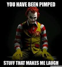 Scary Clown Meme - clown memes the memes i will eat your babys face internet