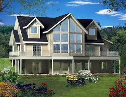 house plans with large windows plan 35484gh dramatic two windows architectural design