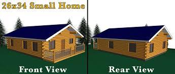 16x20 log cabin meadowlark log homes 26x34 log home meadowlark log homes