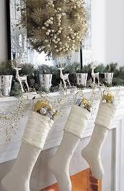 interior of log homes gold and white christmas decor christmas