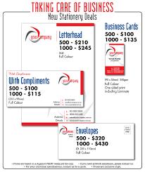 business stationery pro colour