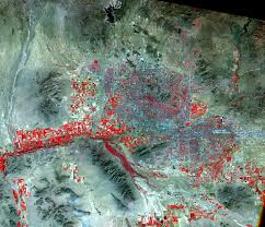 Map Of Phoenix Metro Area by Phoenix Arizona Usa Earthshots Satellite Images Of