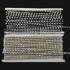 bling ribbon rhinestone ribbon diamond wrap silver string bling buy
