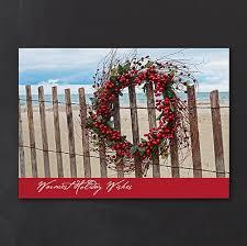 beach christmas cards tropical nautical holiday xmas cards