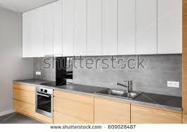 www kitchen furniture modern kitchen furniture contemporary kitchenware like stock photo