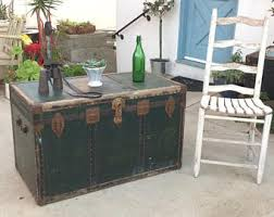 storage trunk coffee table trunk coffee table etsy