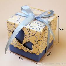 wrapping boxes gift box diy favor holders creative style polygon wedding