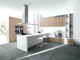 cuisine sol gris cuisine bois et blanc cuisine blanc et bois sol gris cethosia me