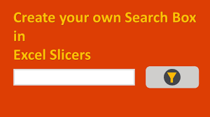 slicer in excel 2013 add search button and multiple filters youtube