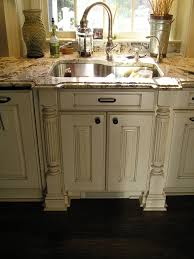 How To Paint And Glaze Kitchen Cabinets Glazed Kitchen Cabinets White Cabinets With Wood Floors