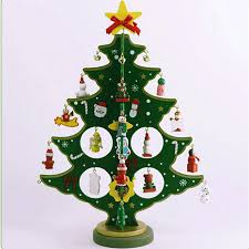 popular wooden christmas decorations for tree buy cheap wooden