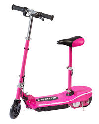 pink electric scooter with seat special led lights