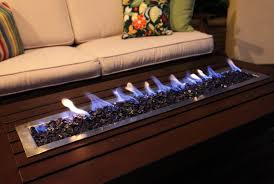 delightful decoration coffee table fireplace with remote ethanol