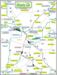 Amtrack Route Map by Atlanta Ga Railfan Guide Rsus