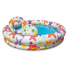 Intex Inflatable Swimming Pool Intex Stars Inflatable Pool Set Inflatable Pools