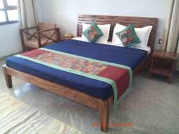 Bedroom Furniture Sets Online by Online Solid Wood Complete Hotel Bedroom Furniture Set India