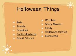 hallo ween basic facts of halloween occurs every year on october