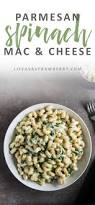 Easy Macaroni Cheese by Parmesan Spinach Mac And Cheese Life As A Strawberry