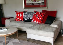 Pillow For Sofa by Small Friendly 30 Couch Transformation