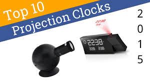Coolest Clock 10 Best Projection Clocks 2015 Youtube