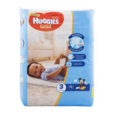 huggies gold huggies gold for boys no 3 6 10g nappies 72pk woolworths co za