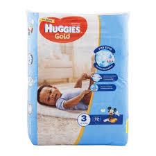 huggies gold huggies gold for boys no 3 6 10g nappies 72pk woolworths co za