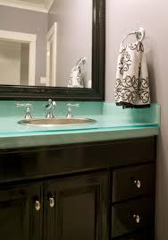 Green Bathroom Vanities Brilliant 20 Bathroom Vanity Glass Top Inspiration Of Bathroom
