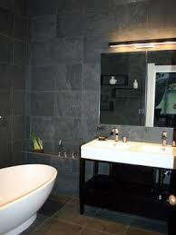 Grey Slate Tile Bathroom 8 Best Slate Floor And Grout Colour Images On Pinterest Base