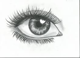 how draw stylized anime eye 5 steps pictures when drawing
