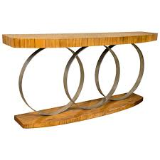 art deco style console table for sale at 1stdibs