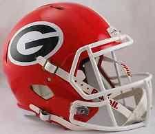 georgia bulldogs helmet ebay