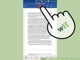 Count Word In Document 4 Ways To Check A Word Count In Microsoft Word Wikihow