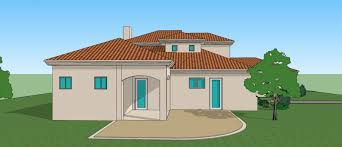 twostoreyed double story house sketches front view of building