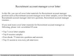 recruitmentaccountmanagercoverletter 140828215537 phpapp01