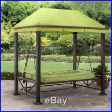 Swing Bed With Canopy Porch Swing With Canopy Swings Bed Outdoor Patio Furniture With