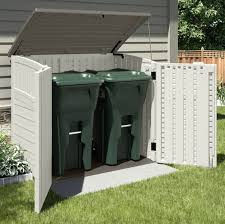 Suncast Resin Glidetop Outdoor Storage Shed by Backyard Storage Sheds Home Outdoor Decoration