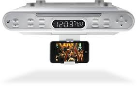 kitchen clock radio under cabinet kitchen under cabinet cd player walmart ikb333s ilive ikb333s