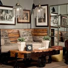 chambre style loft industriel idée décoration salon style industriel salon