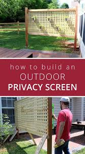 How To Make An Outdoor Bathroom Best 25 Outdoor Privacy Ideas On Pinterest Patio Privacy Patio