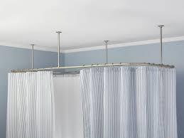 home decor ceiling mount curtain rods amazon unique ceiling