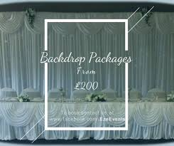 wedding backdrop hire uk eze events chair cover hire company in alloa uk