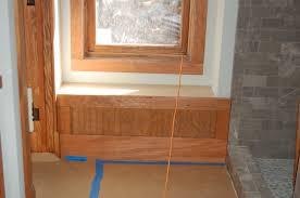 trim wraps concrete starts modern craftsman style home noels