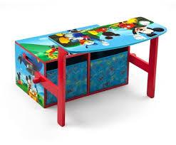 bureau mickey speelgoedbank tafel bureau mickey mouse delta children