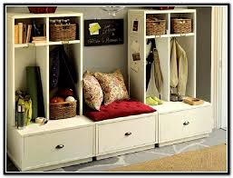 entryway storage bench with coat rack wood u2014 stabbedinback foyer