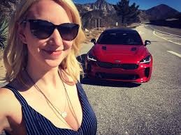 kia commercial actress a look at the kia stinger super bowl commercial fanbolt