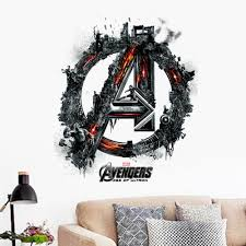 marvel avengers 2 age of ultron wall stickers decals boys cartoon