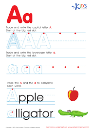 Writing The Alphabet Worksheets Free Alphabet Worksheets For Kids A Z