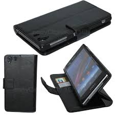 Htc Wildfire Cases Ebay by Premium Leather Flip Case Cover Wallet For Sony Xperia Z1 Phone