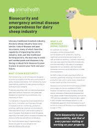 industries farm biosecurity